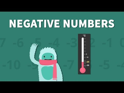 Negative Numbers: An Overview