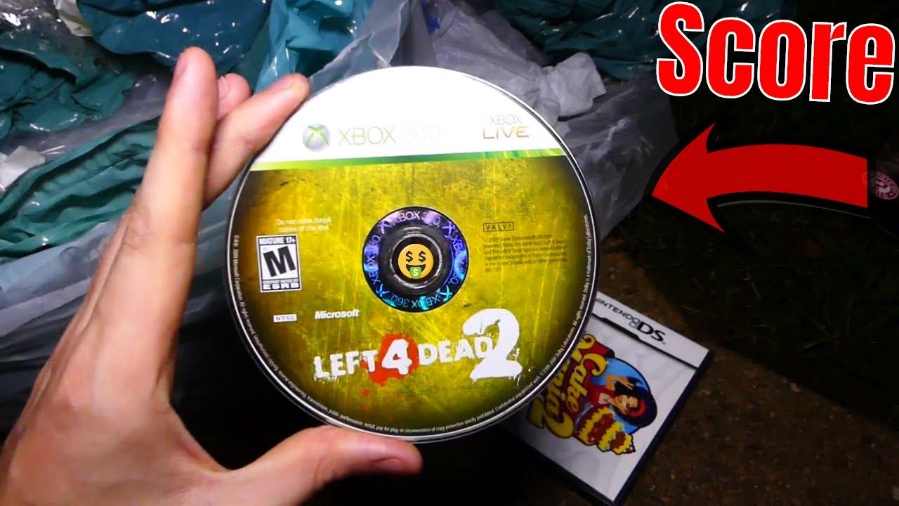 25 Dollar Game Gamestop Dumpster Diving Night 552