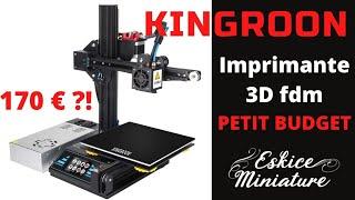 Imprimante 3D Kingroon - Parfait pour PETIT BUDGET !