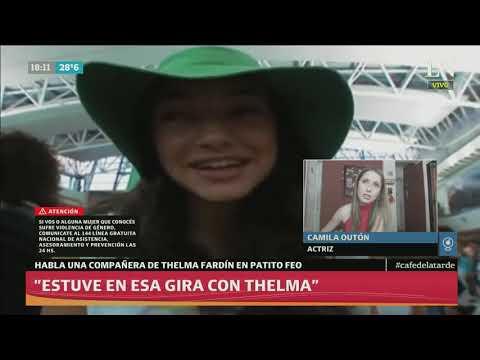 Caso Juan Darthés: habló una compañera de Thelma Fardín en Patito Feo - Café de la tarde