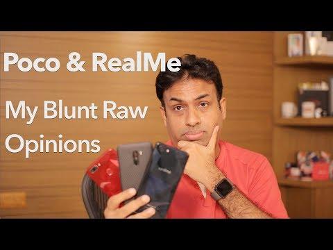POCO & RealMe Smartphones My Raw & Blunt Opinions