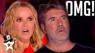 FLAMING Audition Shocks Judges on Britain's Got Talent 2019 | Magicians Got Talent