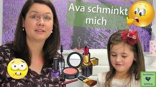 Schmink-Challenge 💋 5-Jährige schminkt ihre Mama zum 1. Mal 💄 ob das gut geht?