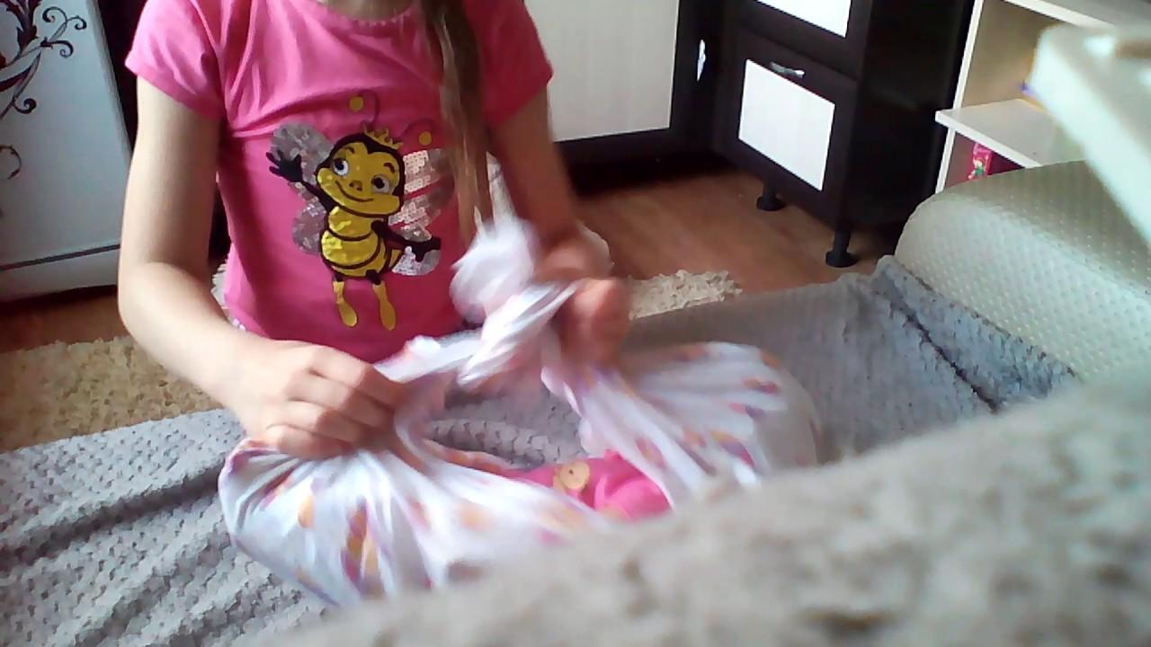 Как сделать переноску для куклы своими руками