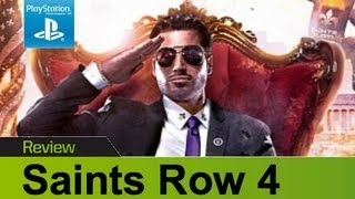 Saints Row 4 PS3 review & gameplay