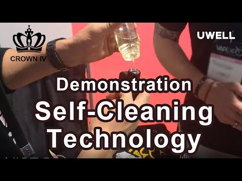 How to Demo of the UWELL Crown 4 Tank - Self Cleaning Technology