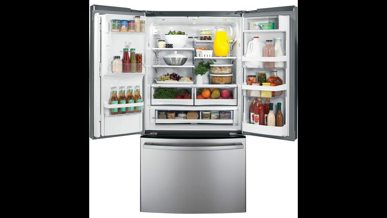 Refrigerators Reviews Lg Lfx33975st French Door Refrigerator Youtube