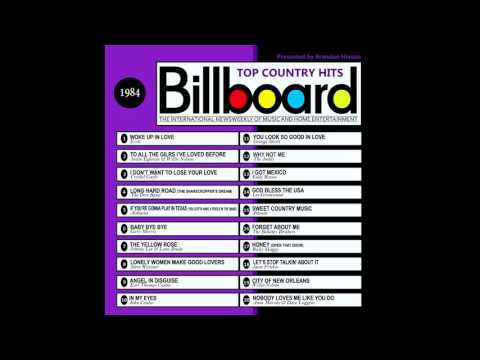Billboard Top Country Hits - 1984