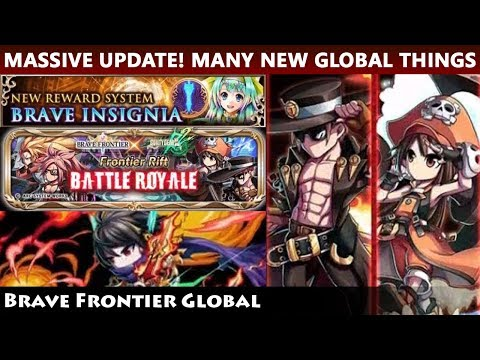 Massive Global Update! Brave Insignia, Battle Royale & Many More! (Brave Frontier Global)