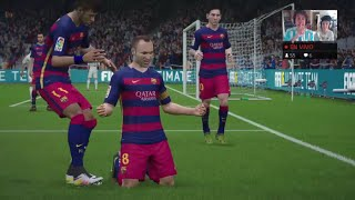 Video Gol Pertandingan FC Barcelona vs Real Madrid