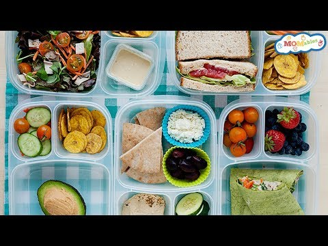 5 Healthy School and Office Lunch Ideas with Hummus