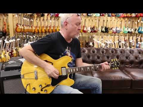 Norman's Rare Guitars - Guitar Close Up: 1966 Gibson ES-340 Blonde $5895