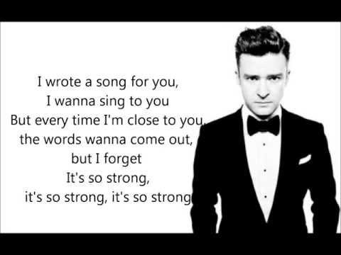 Tunnel vision - Justin Timberlake (Correct lyrics) (The 20/20 Experience) NEW 2013