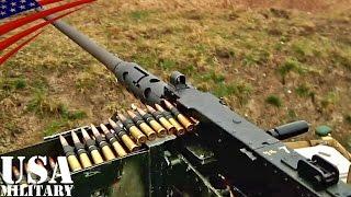 ブローニングM2(12.7mm)重機関銃・射撃訓練 - M2 Browning .50 Caliber Machine Gun Fire