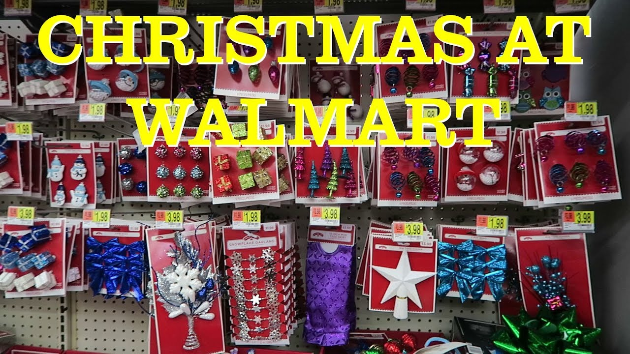 Walmart: Christmas Decorations & Candy 2017 - YouTube