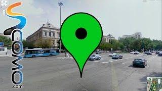 Cómo utilizar street view en el nuevo google maps Free HD Video