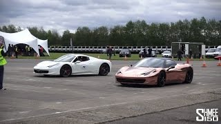 Yiannimize vs Lord Aleem - Two 458 Spiders at Hypermax