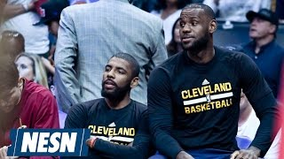 LeBron James Defends Big Three Taking A Seat Vs. Clippers