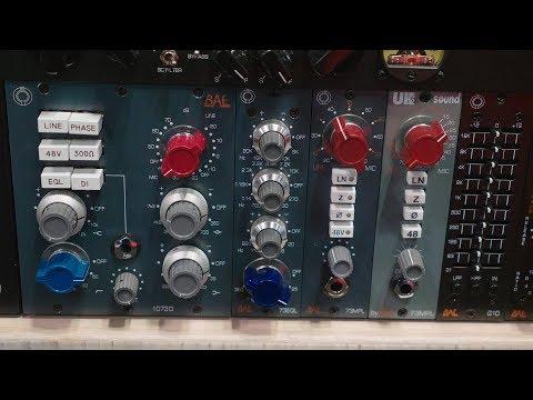 BAE 73EQL - AES 2019 - Sound On Sound