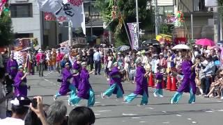 2015年7月26日(日)、茂原七夕祭りのよさこいのイベントで、1...