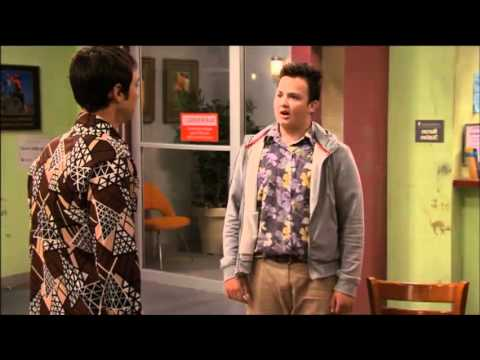 Jim Parsons on iCarly Compilation iLost My Mind HQ