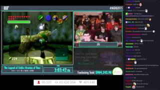 AGDQ 2015 - The Legend of Zelda: Ocarina of Time Speedrun 100% by ZFG (4:45:08)