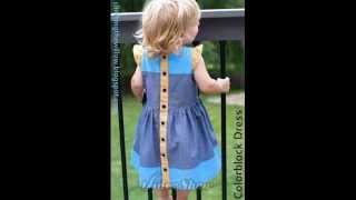 Как сшить платье для девочки (How to sew a dress for girl)(, 2014-04-19T04:56:46.000Z)