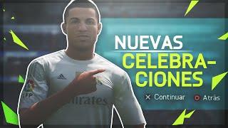 TUTORIAL NUEVAS CELEBRACIONES FIFA 16