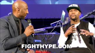 FLOYD MAYWEATHER REVEALS HIS TRAINING REGIMEN; EXPLAINS WHY HE DOES THINGS DIFFERENTLY