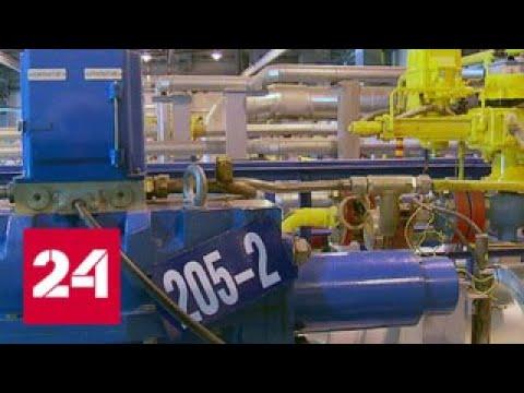 """Делегация предпринимателей из ЕС посетила газовое месторождение """"Северного потока - 2"""" - Россия 24"""