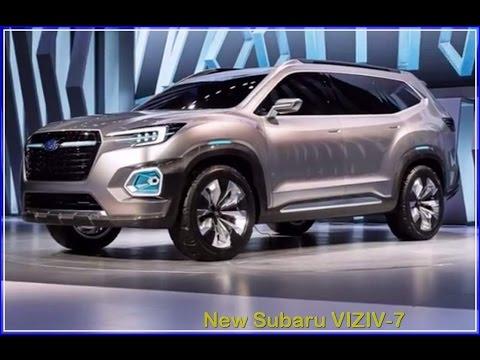Subaru Viziv 2017 2017 Subaru Viziv 7 Suv Interior Exterior Concept Youtube