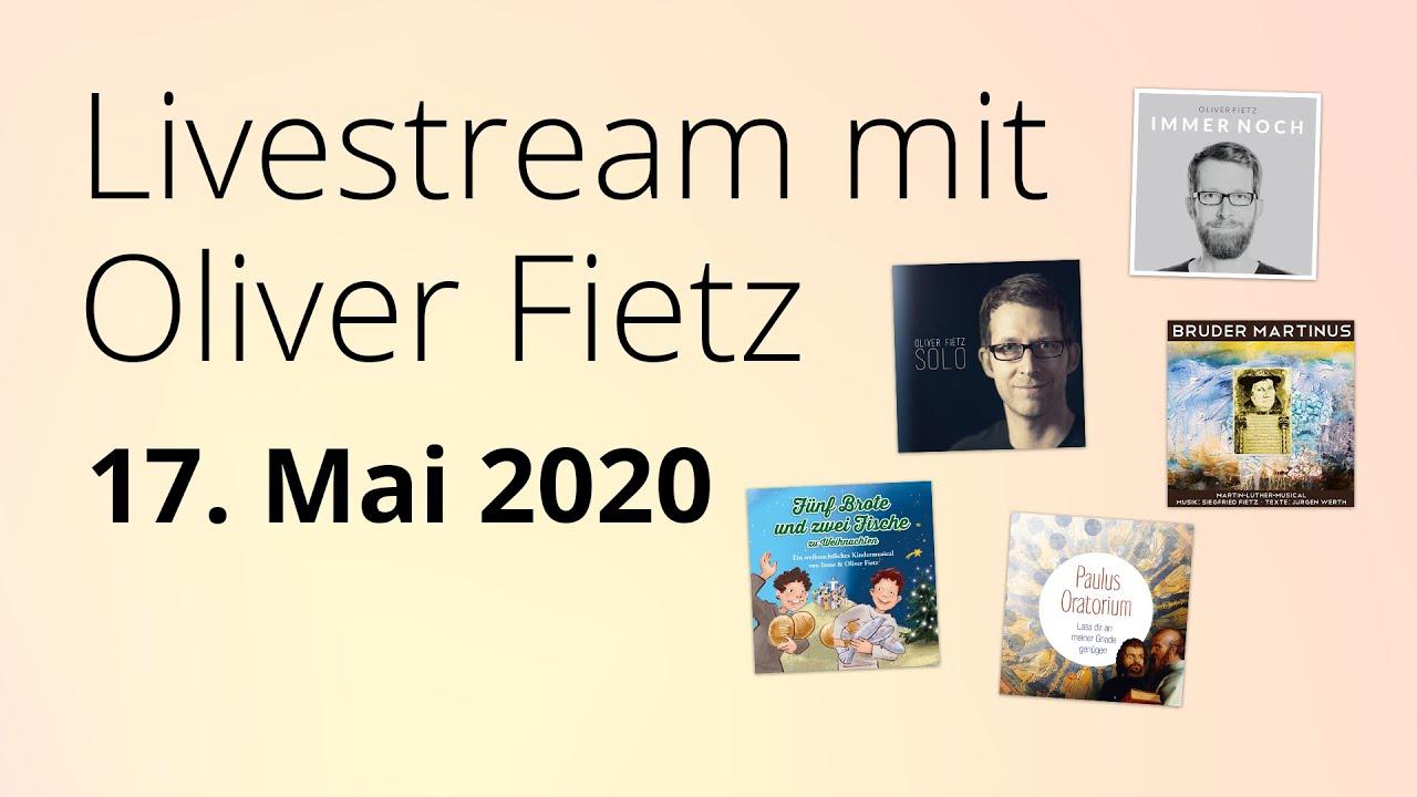 Online-Konzert am 17.05.2020