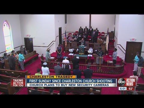 First Sunday since Charleston church shooting