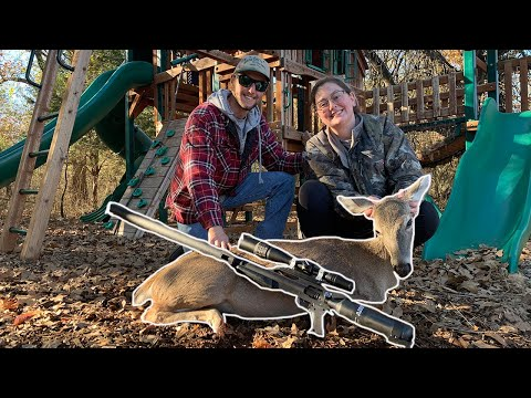 Urban Deer Hunting Out Of A TREE HOUSE! {Catch Clean Cook} Deer Tongue