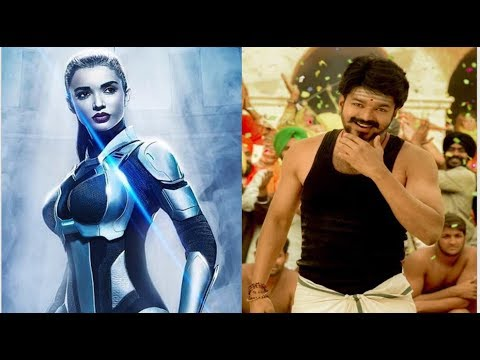 NO TRAILER FOR MERSAL New poster of 2.0 Amy jackson robot look hot cinema news filmy dreams