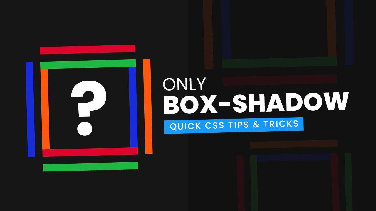 Cool CSS box-shadow Example and Hover Effects | Quick CSS Tips, Tricks
