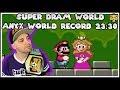 Super Dram World Any% World Record w/ 1