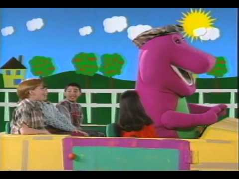 Barney Are We There Yet Trailer 1995