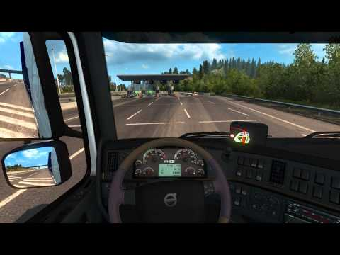 ETS2 Scandinavia DLC - From Göteborg to Oslo