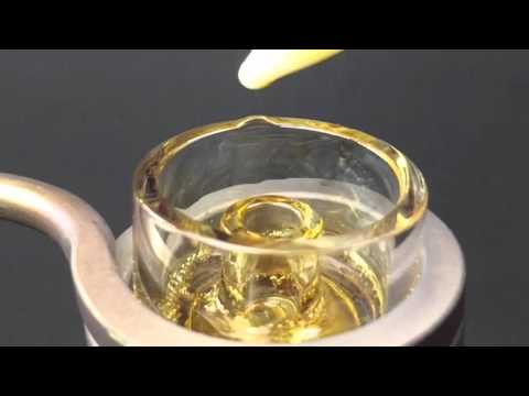The Most Beautiful Dab Ever! Banana Split Crumble + Raw Clear Concentrate Dabs On An eBoss XL eNail!