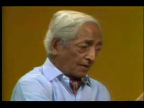 Jiddu Krishnamurti - be a light of yourself 1974