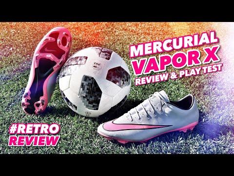 MERCURIAL VAPOR X   REVIEW & PLAY TEST   #RetroReview