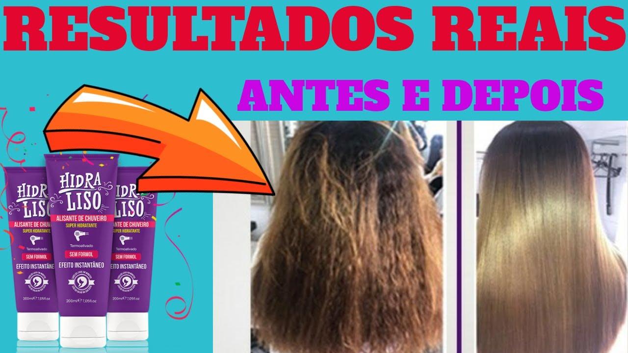 hidraliso deixa o cabelo liso mesmo