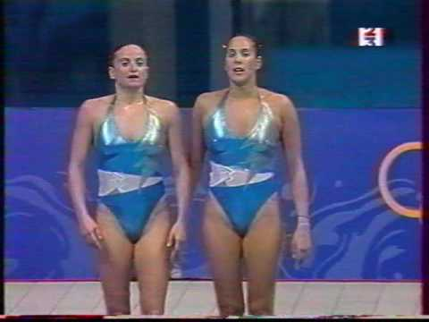 2000 Olympics Synchronized swimming Final Free duets