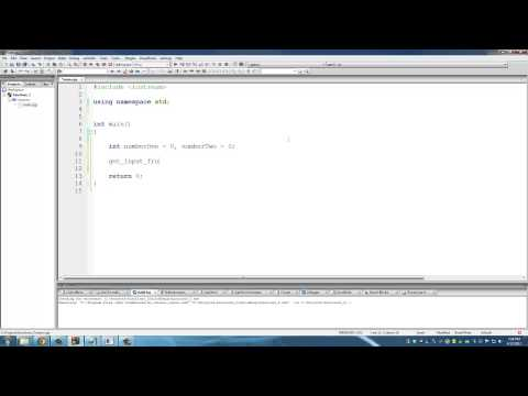 C++ Programming Tutorials: 13 Functions - Passing Variables by Value or Reference