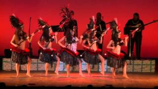 Tahitian Dance - Otea - Vahine Toa - by Tunui