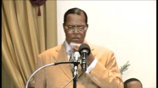 Farrakhan Reveals the True Religion of God & Questions the Quality of Leadership
