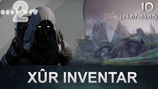 Destiny 2: Xur Standort & Inventar (19.07.2019) (Deutsch/German)