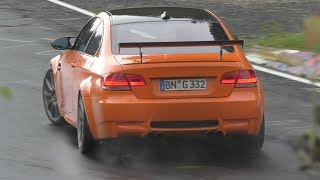 BMW M3 E92 EPIC Drifts on the Nürburgring!