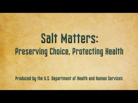 Salt Matters: Preserving Choice, Protecting Health (Extended Version)